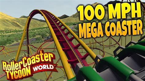 roller coaster world rollercoaster tycoon world gameplay part 1 building a