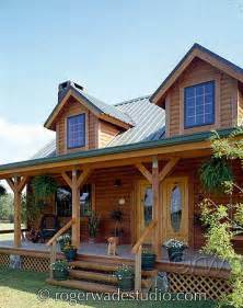 Log Home Ideas Log Cabin Porch Ideas Pioneer Log Systems Is A