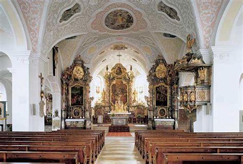 katholische kirche innen katholische kirche sankt laurentius markt wolnzach