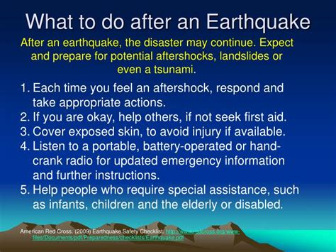earthquake what to do ppt natural disaster preparedness in the pacific