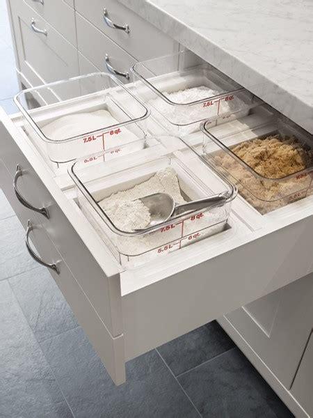 flour storage ideas baking drawer transitional kitchen house home