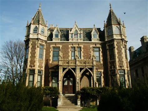 gothic revival architecture in wisconsin the gothic revival goodrich mansion at 2234 north terrace