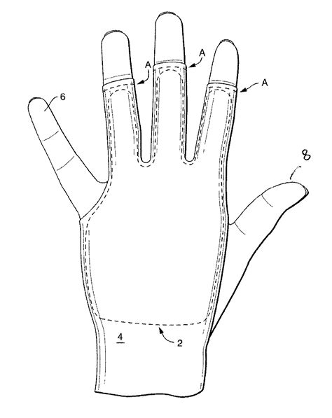 Drawing Glove by Patent Us20120284900 Glove To Resist Nocturnal