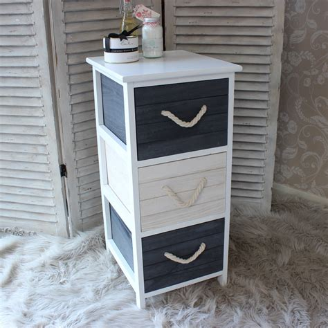 white drawer unit the range blue white wooden chest of drawers home furniture nautical