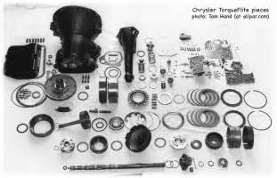Chrysler Transmission Parts Tom S Guide To The Chrysler Torqueflite Automatic