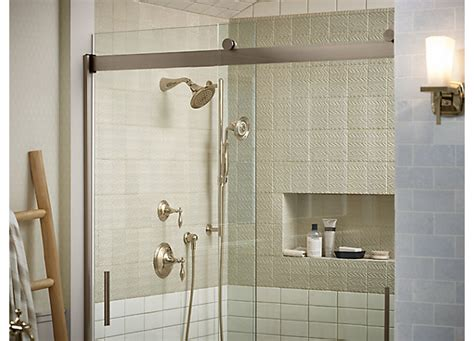 kohler bathtub shower doors shower door guide bathroom kohler
