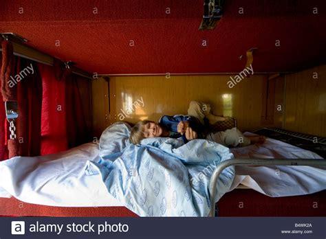 Sleeper Trains Europe by Seven Year Boy Plays On Sleeper Bunk Bed In European