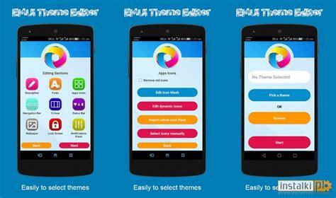 android theme generator software emui theme editor aplikacja android instalki pl