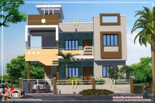 2 floor house home design contemporary india house plan sqft kerala