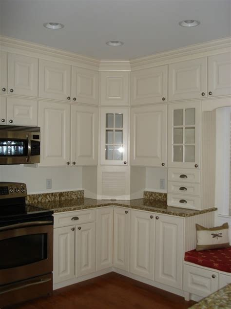 stacked kitchen cabinets stacking stock cabinets traditional dc metro by