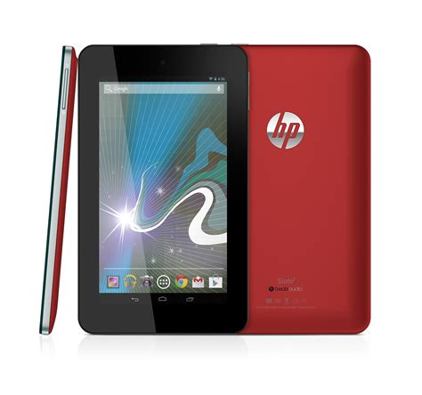 Tablet Android Hp company news in hp launches slate7 android consumer tablet in the middle east
