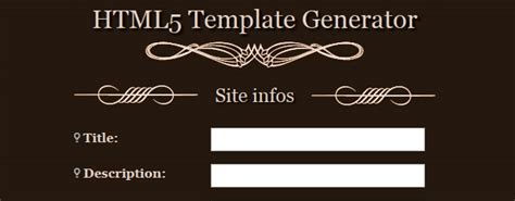 template generator html5 50 free web based apps and tools for web developers