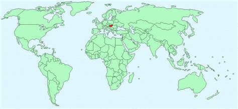 world map of hungary hungary facts and figures