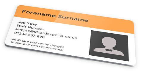design your own id card uk top two tone id card design pack with text by