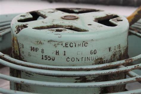 Vintage Fridgid Electric Fan Mid Century Modern Retro