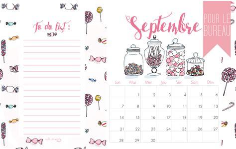 Calendrier De Septembre Calendrier De Septembre Milk With Mint