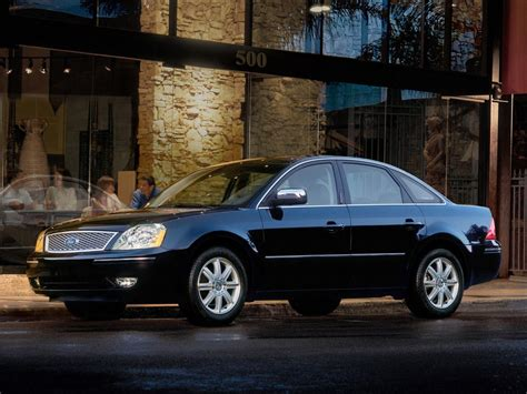 Ford Five Hundred by Ford Five Hundred Technical Specifications And Fuel Economy
