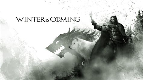 wallpaper ghost game of thrones he s the only one i know that is loving this weather imgur
