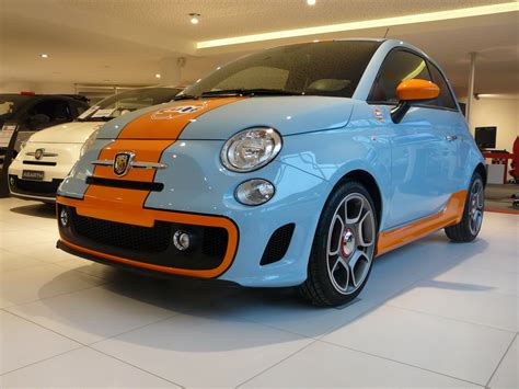 gulf car fiat abarth 500 gulf limited editionpicture of auto design