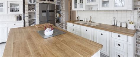 Wood Look Countertops by Compare Pros And Cons Of Wood Countertops 2018 Average