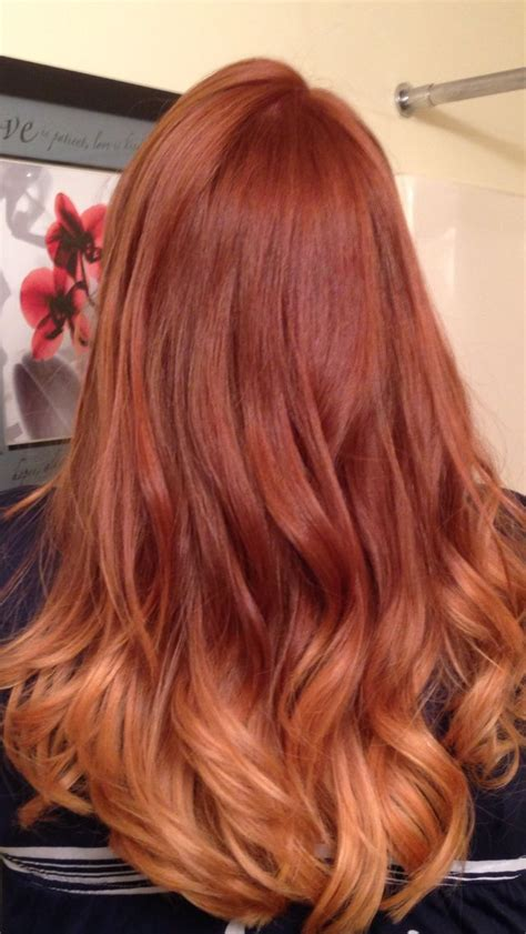 red ombre hair red color melting hair ombre my style pinterest