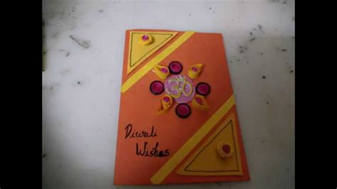 Greeting Card Handmade - 50 best diwali greeting cards images handmade diwali cards