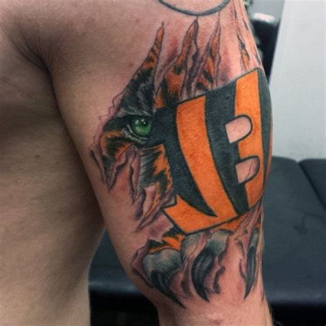 tattoo cincinnati 70 football tattoos for nfl ink design ideas