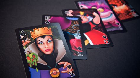 Where Can I Buy A Disney Gift Card - disney villains playing cards