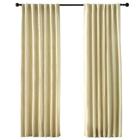 home depot drapes semi opaque ivory curtains drapes blinds window