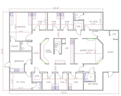 medical office floor plan sles modular buildings and mobile offices