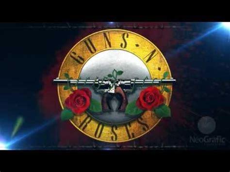 Guns N Roses Logo 4 guns n roses logo animada em after effects