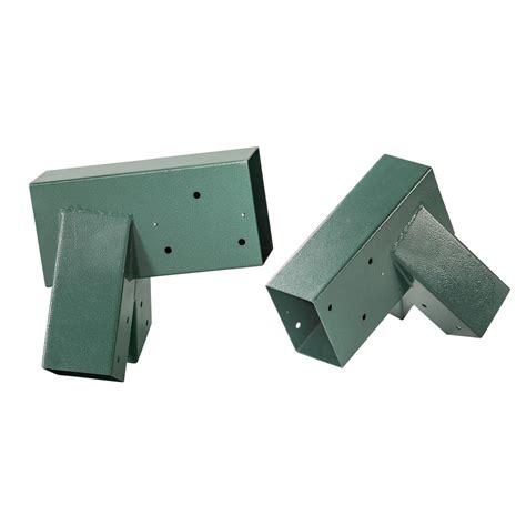 swing frame brackets swingan a frame bracket green powder coating set of 2