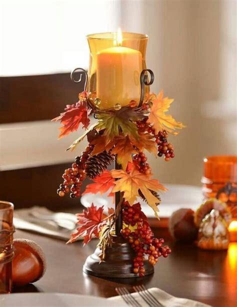 Kerzenhalter Dekorieren by Dekoideen Herbst Bringen Sie Den Herbst Nach Hause