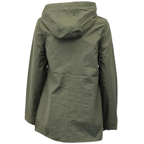 Hooded Coat kagool jacket brave soul womens coat hooded