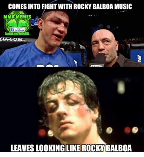 Rocky Meme - 25 best memes about facebook fight memes and music