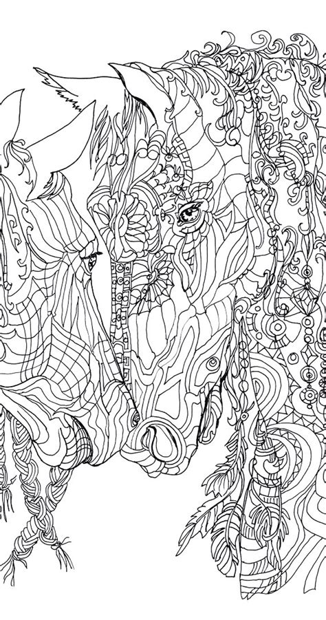 printable coloring pages for adults horses coloring pages printable adult coloring book horse clip