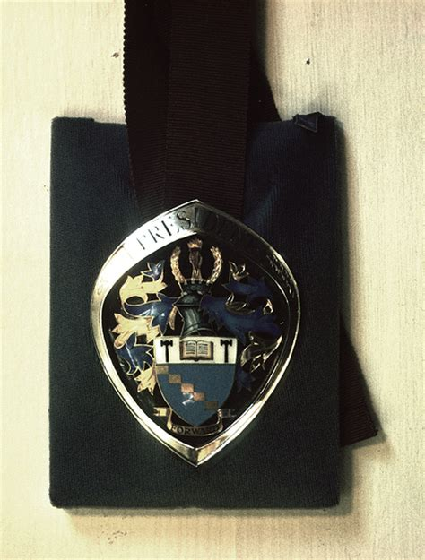 Badge Office by Keith Tyssen Designer Silversmith