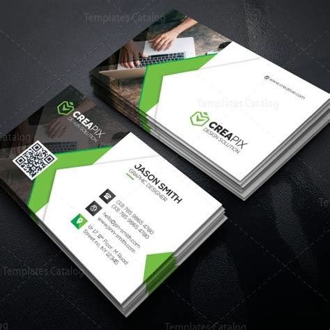 personal business card template personal business card template 000480 template catalog