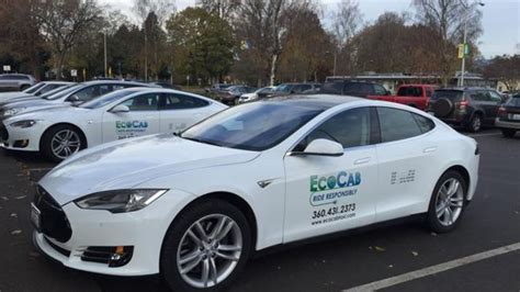 Tesla Taxi Tesla Cars Are Being Used As Cabs In Techdrive