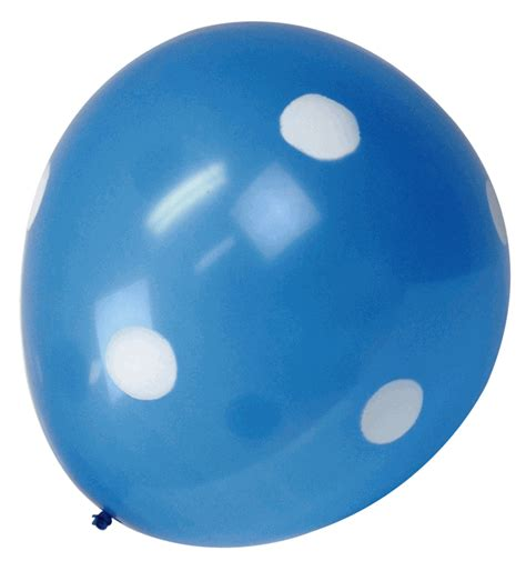 Boyleg Boxer Jumbo Polkadot 36 quot jumbo balloon light blue with polka dot