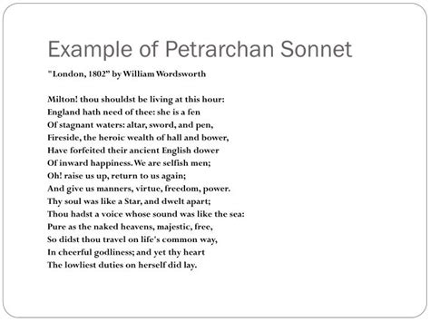 six line sonnet section ppt sonnets powerpoint presentation id 5788255