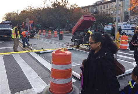 rubber st nyc on the eastern parkway gets removable rubber