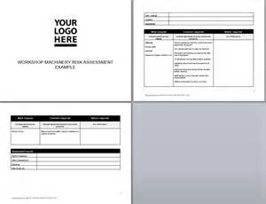 Machinery Risk Assessment Template by Workshop Assessment Workshop Machinery Risk Assessment