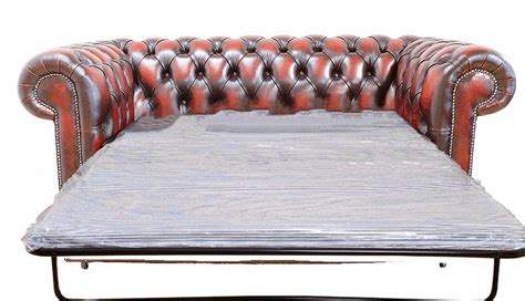Chesterfield 2 Seater Sofa Bed Antique Oxblood Antique Sofa Beds