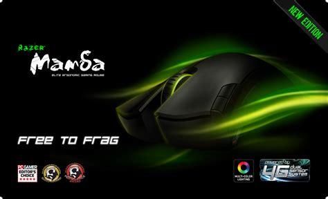 Mouse Razer Black Mamba razer mamba 2012 gaming mouse mus laser optical