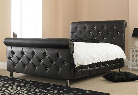 Ashley's Trade Carpet Centre:   Diamond Sleigh Double Bed
