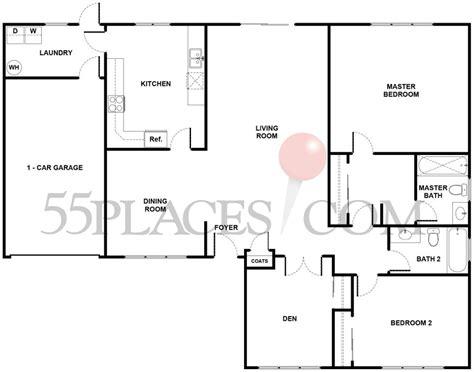 leisure village camarillo floor plans amalfi floorplan 1442 sq ft leisure village