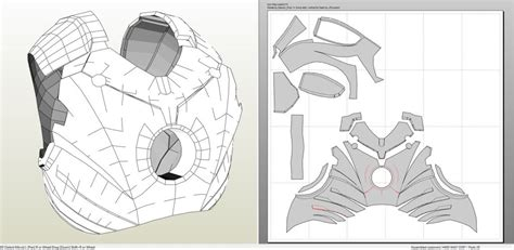 iron man suit template gallery of pepakura iron ironman pelautscom