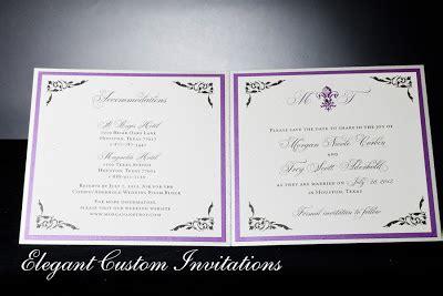inside of wedding invitation custom wedding invitations invitations