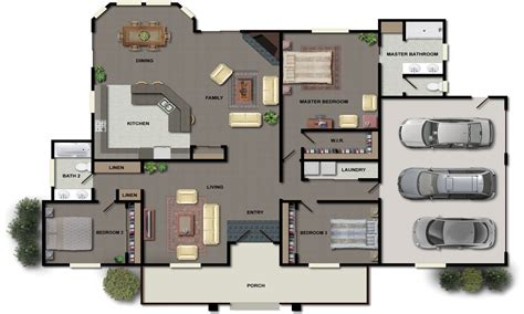large house floor plans big house plan designs floors house floor plan design